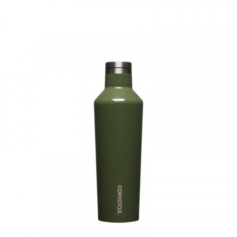Corkcicle Gloss Olive Canteen - 16 oz