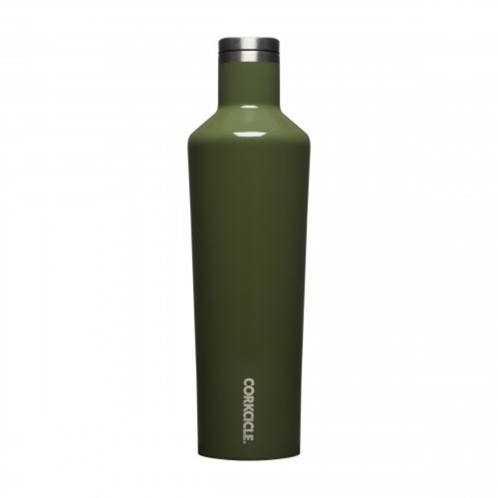 Corkcicle Corkcicle Gloss Olive Canteen - 25oz