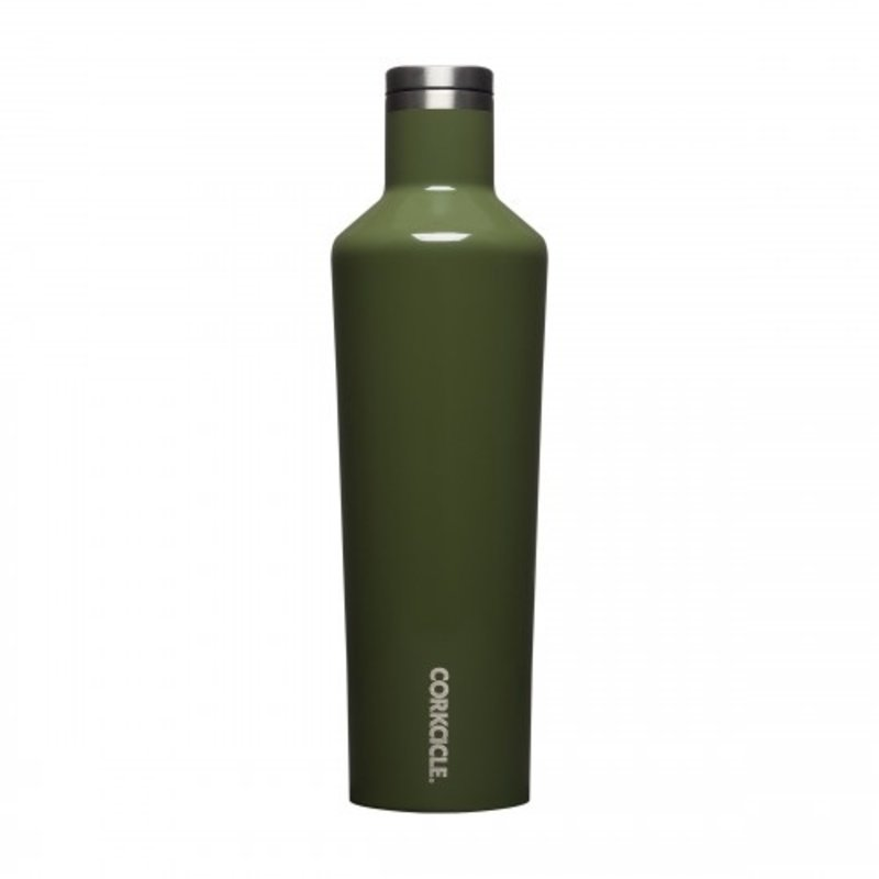 Corkcicle Gloss Olive Canteen - 25oz