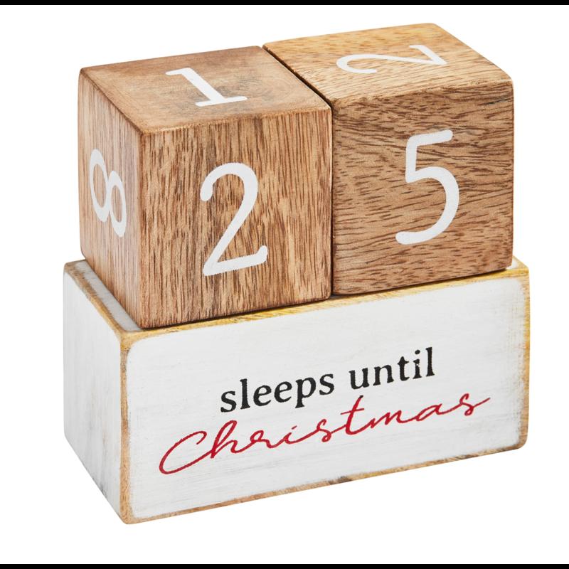 Mud Pie Multi-Holiday Countdown Block Set