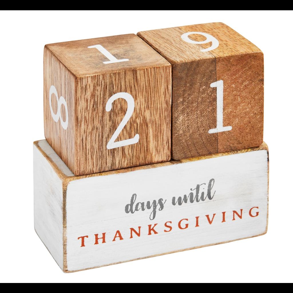 Mud Pie Mud Pie Multi-Holiday Countdown Block Set