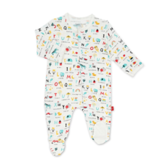 Magnetic Me Magnetic Me ABC Love Magnetic Footie -Newborn