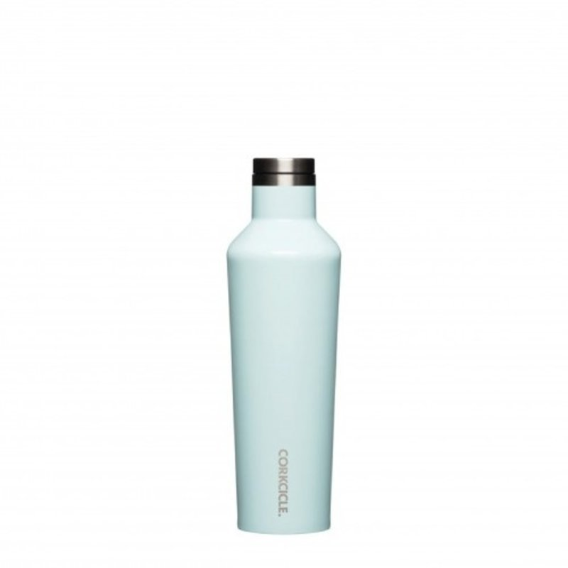 Corkcicle Gloss Powder Blue Canteen - 16 oz.