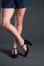 Chie Mihara Chie Mihara T-Strap Closed Toe Heel