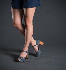 Chie Mihara Chie Mihara Ankle Strap Wood Heel