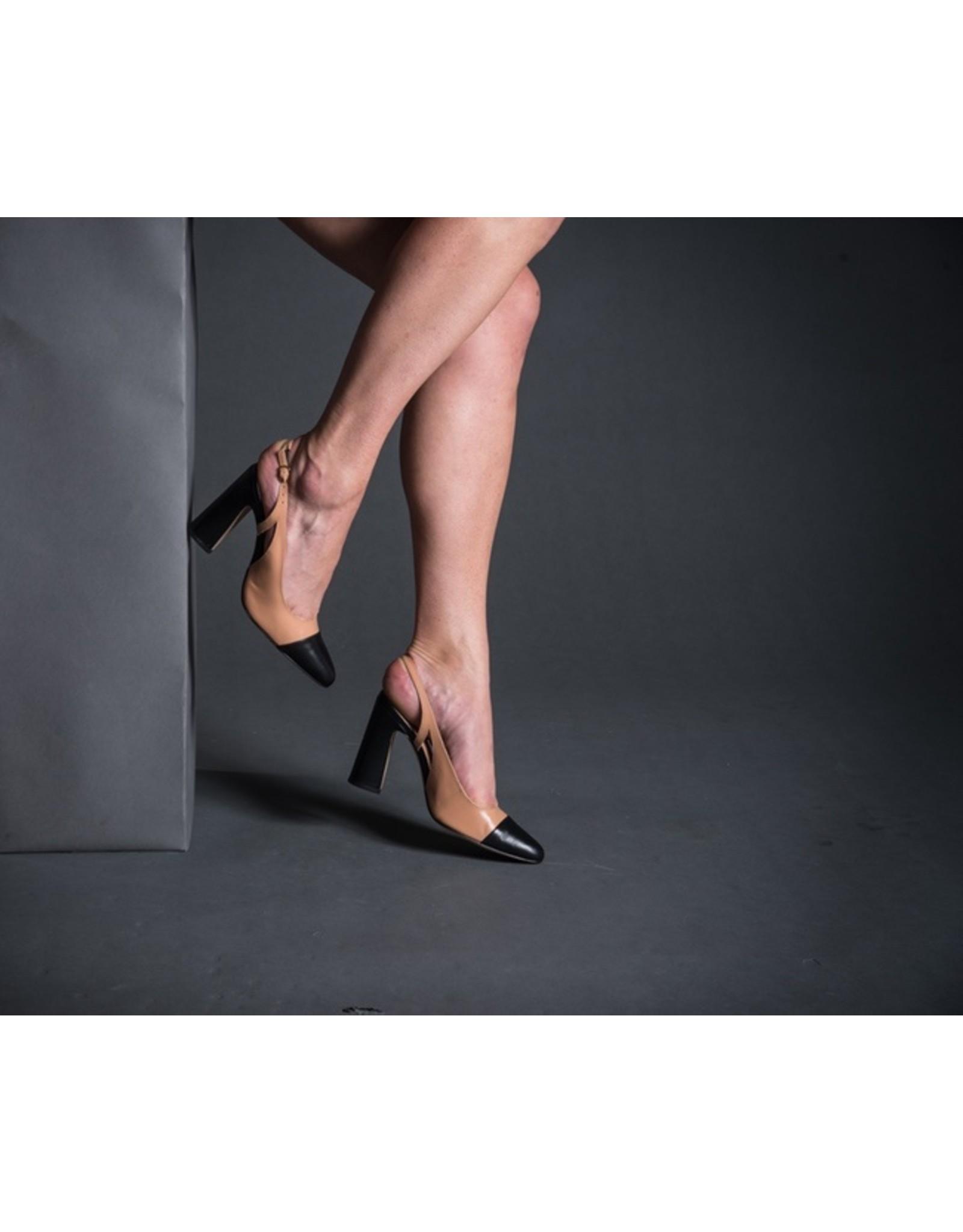 Luiza Barcelos Toe Capped Sling Back Heel