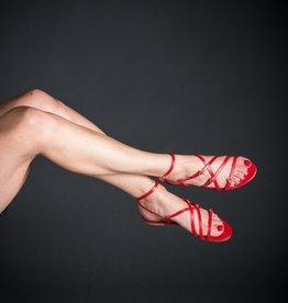 Luiza Barcelos Luiza Barcelos Strappy Heart Sandal, Flat
