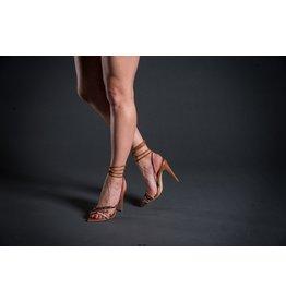 Luiza Barcelos Ankle Tie Heel