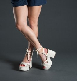 Vicenza Vicenza Rope Chunky 70's Tie Up Platform