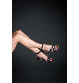 Vicenza Tiny Studded Ankle Strap Sandal