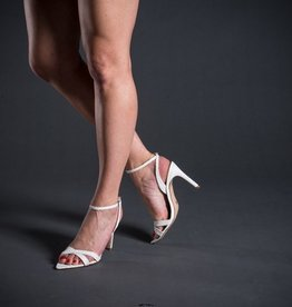 Vicenza Vicenza Ankle Strap Triangle Front Stiletto