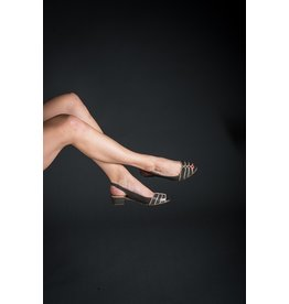 Lorraci Open Toe Sling Back (2 Colours Available)