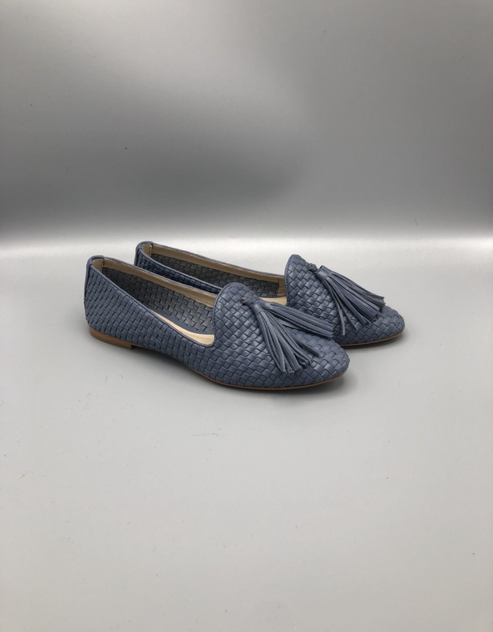 Guilhermina Tassle Braided Leather Loafer