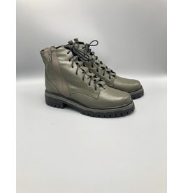 Maithe Side Zip Leather Combat Boot (Multiple Colours)