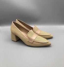Maithe Chunky Heel Woven Loafer