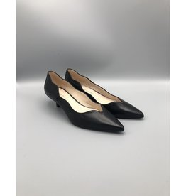 Marian Iris Scalloped Leather Pump