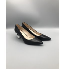 Marian Penny Ball Heel Leather Pump