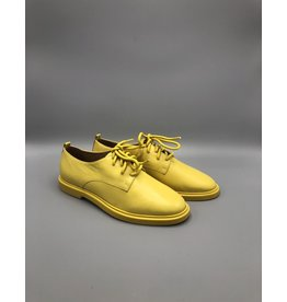 Round Toe Leather Derby Shoe