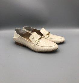 Stivali Stivali Prague Handmade Leather Slip Down Back Loafer