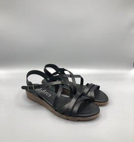 Valeria's Valeria's Multi Cross Strap Leather Sandal