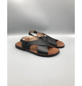 Caboclo Men's Cross Front Leather Sandal