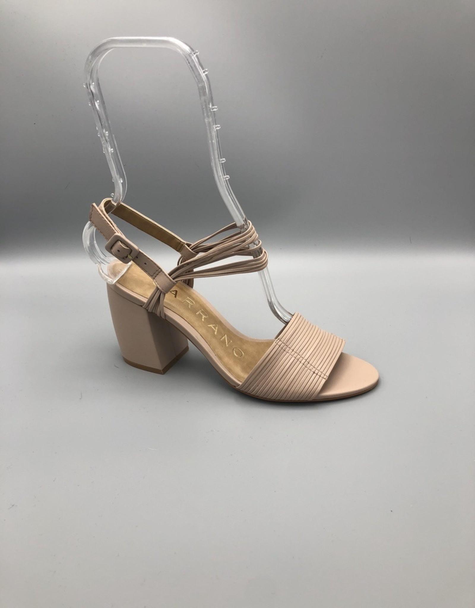 Carrano Carrano Mestico Thin Multi Ankle Strap Thick Heel