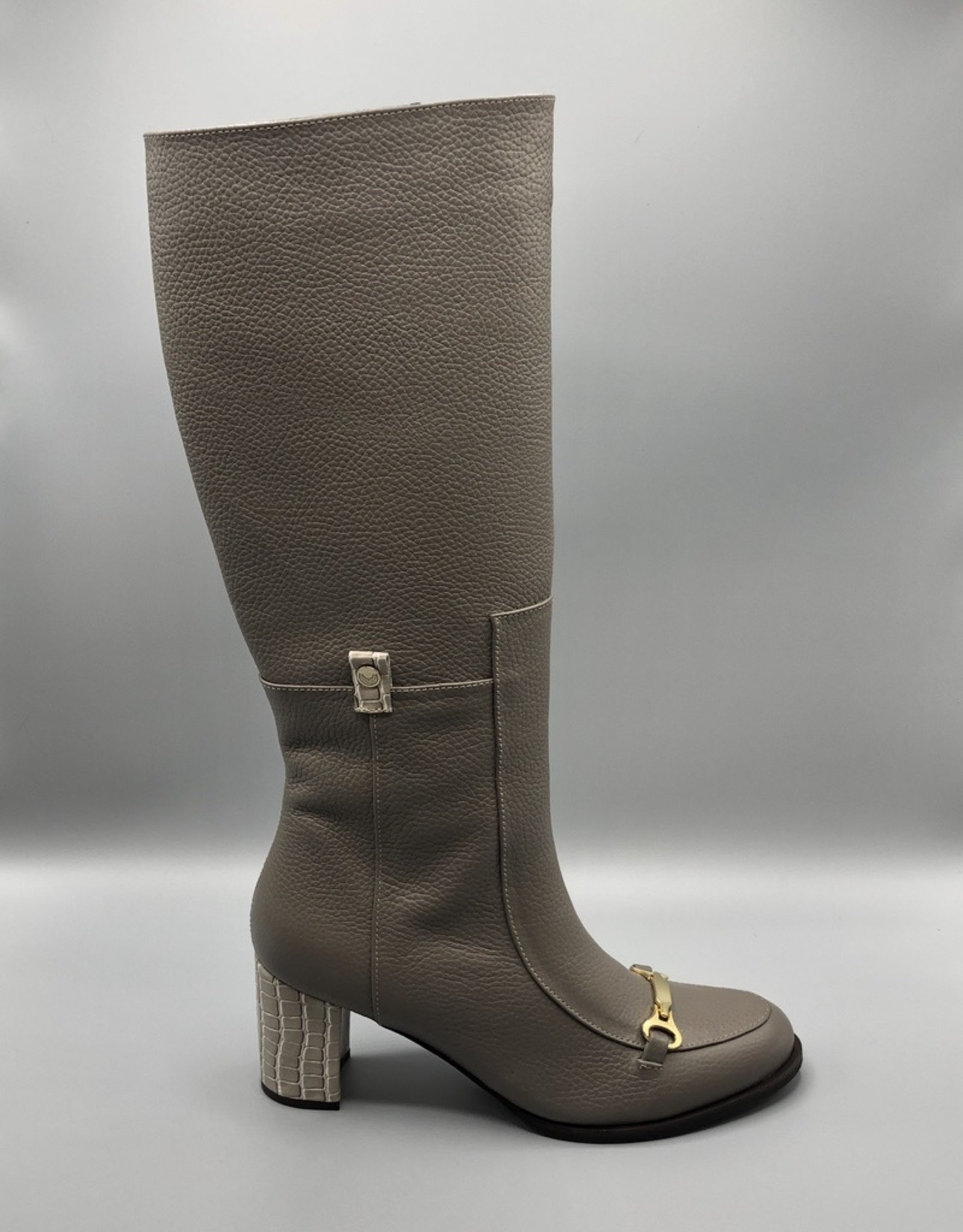 Stivali Stivali Seville Leather, Buckle Toe Knee Boot