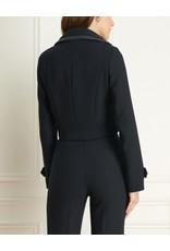 Iris Basket Weave Crop DB Jacket