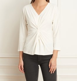 Iris Batwing Knot Front Top