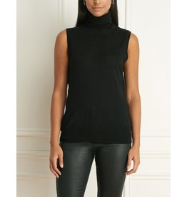 Iris Merino Blend Sleeveless Turtleneck