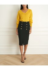 Iris Merino Blend V-Neck Sweater