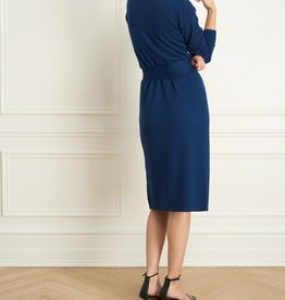 Iris Merino Blend Wrap Dress