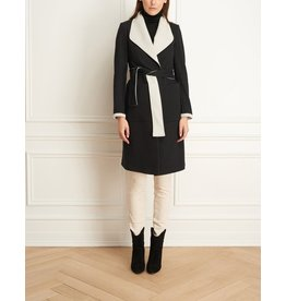 Iris Double Face Cotton Wrap Jacket