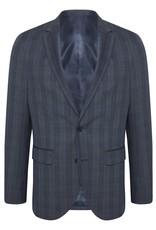 Matinique George Stretch Plaid Suit Jacket