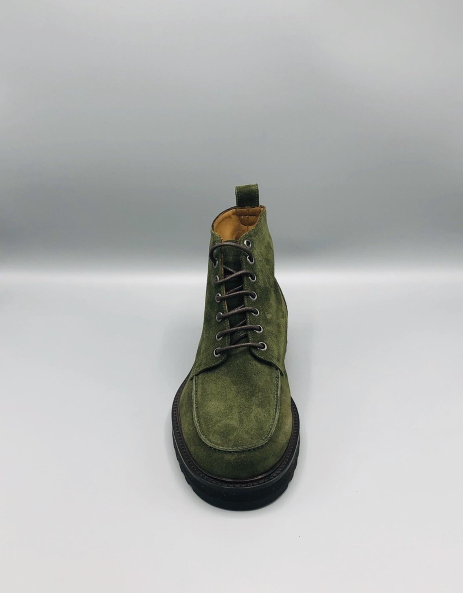 Manovie Toscane Manovie Toscane Silvio Lace Up Suede Ankle Boots