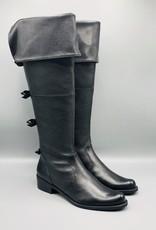 Luz da Lua Luz da Lua Thigh High Back Bow Leather Boot