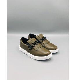 Luz da Lua Fringe Chain Slip On Sneaker (2 Colours Available)