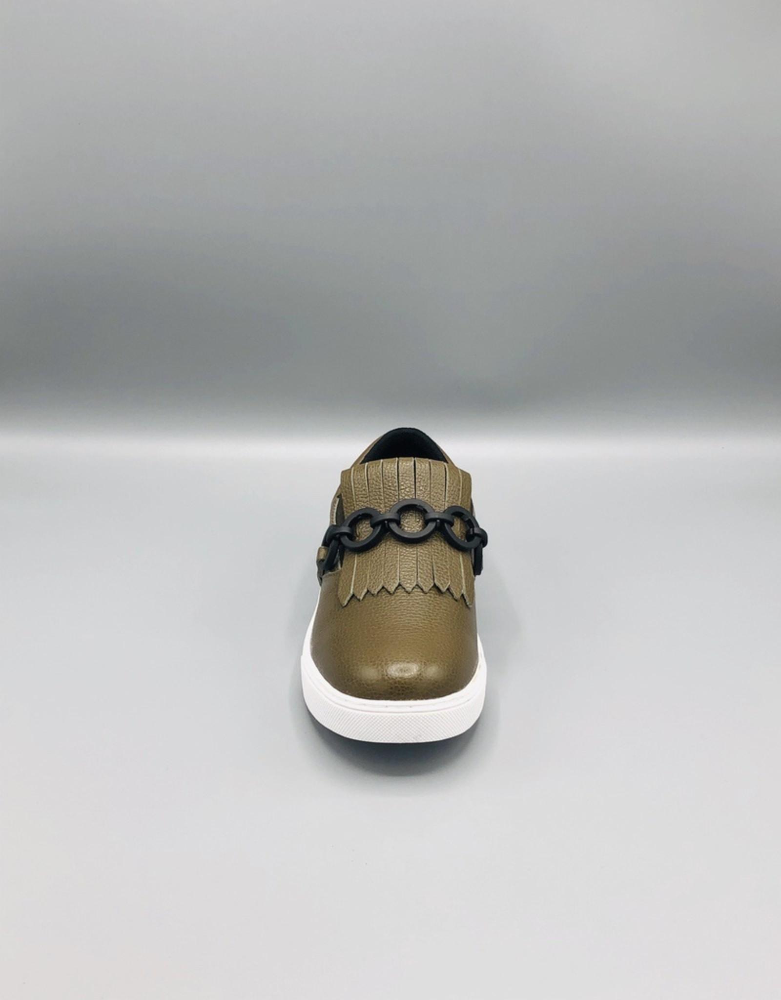 Luz da Lua Luz da Lua Fringe Chain Slip On Sneaker