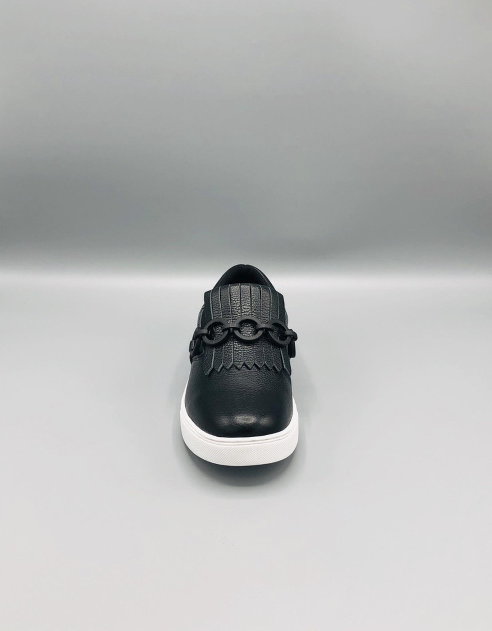 Luz da Lua Fringe Chain Slip On Sneaker