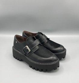 Paro Brasil Platform Leather Monk Shoe
