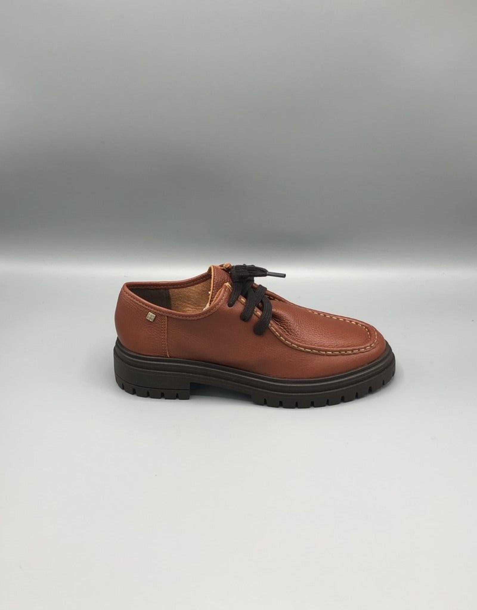 Paro Brasil Platform Leather Chukka Shoe