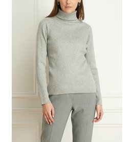 Iris Wool Blend Ribbed Turtleneck
