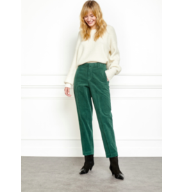 MKT Pijou Stretch Velvet Carrot Pant (Multiple Colours Available)