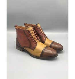 Pikolinos Royal Lace/Zip Leather Derby Boot