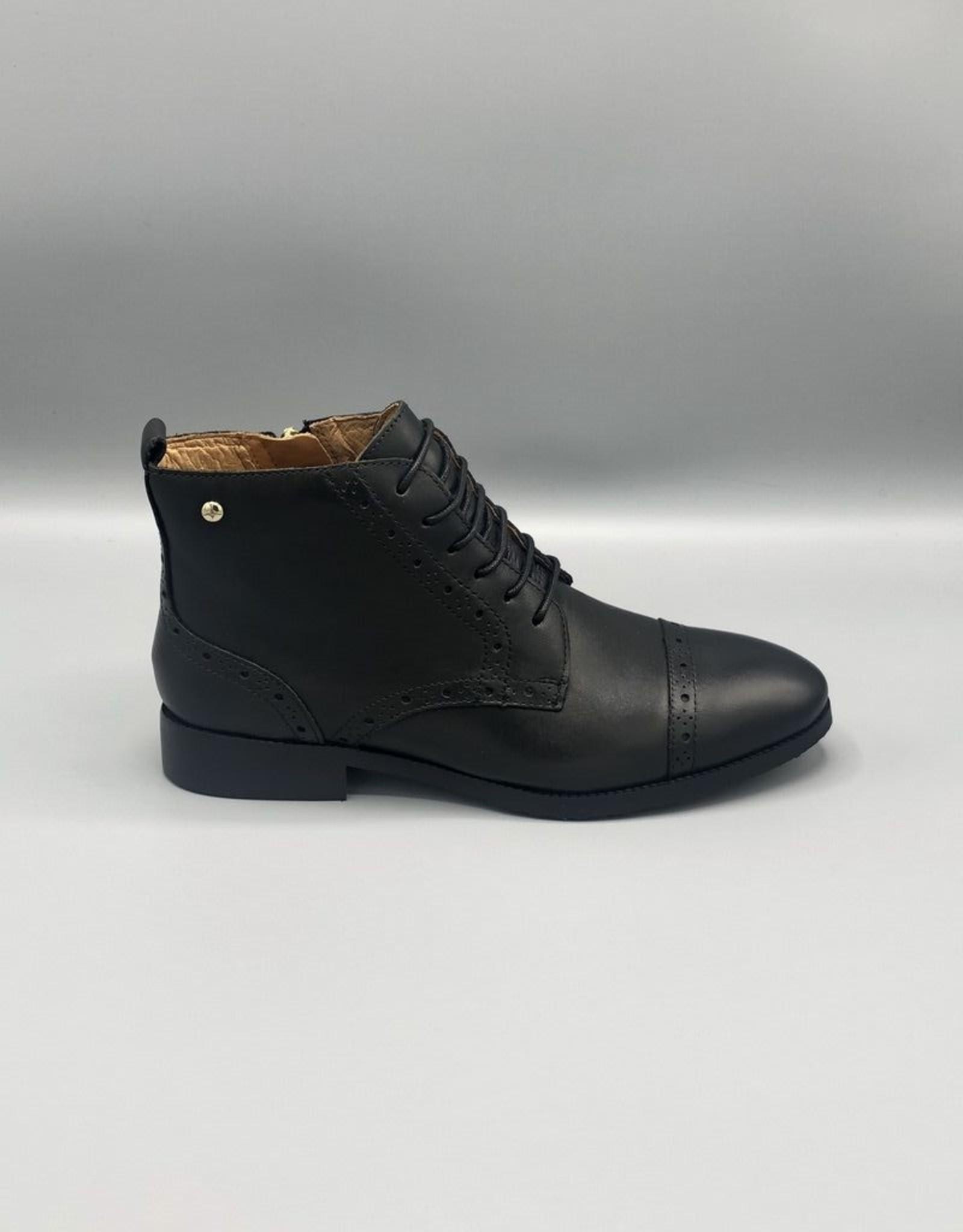 Pikolinos Pikolinos Royal Lace/Zip Leather Brogue Boot