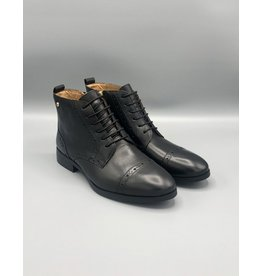 Pikolinos Royal Lace/Zip Leather Brogue Boot