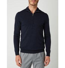 Matinique Mas 1/4 Zip High Neck Merino Sweater