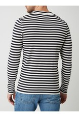 Matinique Lennon Striped Cotton Sweater