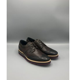 Pikolinos Durcal Multi Colour Leather Brogue