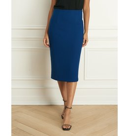 Iris Sweater Twill Pencil Skirt
